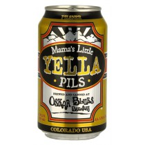Oskar Blues - Mama's Yella Pils 12oz - 6 Cans