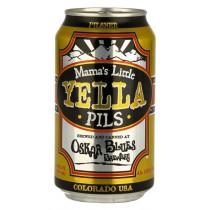Oskar Blues - Mama's Yella Pils 12oz - 6 Cans