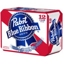 Pabst Blue Ribbon 12oz - 12 Bottles