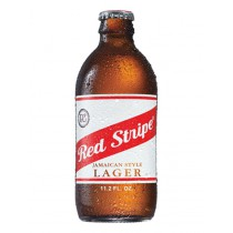 Red Stripe Lager Beer 12oz - 12 Bottles
