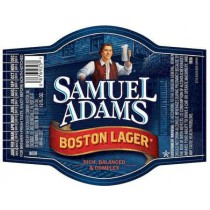 Samuel Adams Boston Lager, 15.5 Gal - HALF BARREL Keg