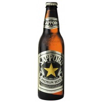 Sapporo Premium Beer 12oz - 24 Bottles