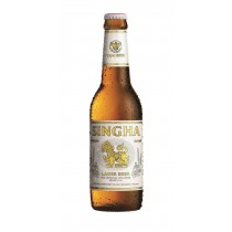 Singha Lager Beer 15.3oz - 2 Pack