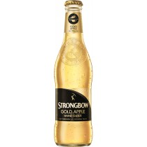 Strong Bow Gold Apple Cider Hard 12oz - 12 Bottles