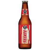 Tecate Beer Bottles 12oz - 24 Bottles