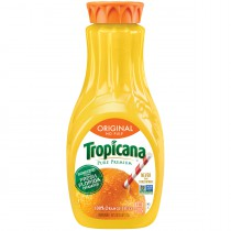 Tropicana Orange Juice - No Pulp 2 Bottles 59oz